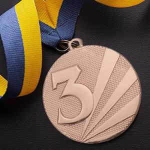 Medalhas personalizadas preço-bronze
