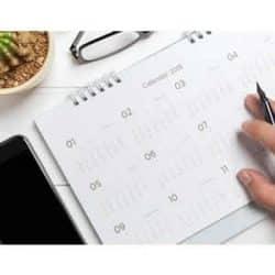 calendarios de parede