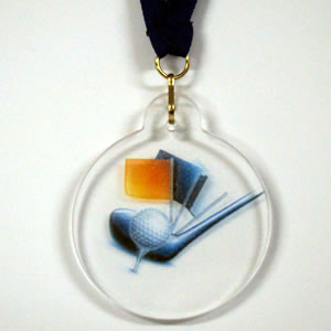 Medalhas acrílico a cores