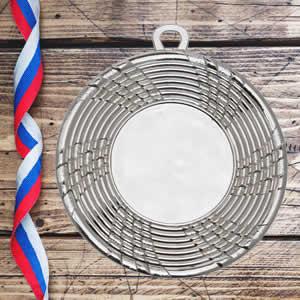 Medalhas personalizadas online-prata
