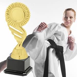 Taças desportivas personalizadas judo