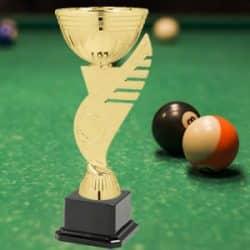 Taças desportivas personalizadas snooker