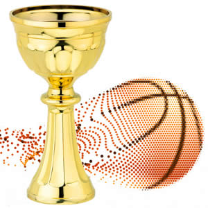 Troféu económico personalizado basquetebol