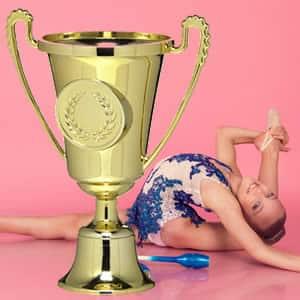 Troféu económico personalizado ginastica