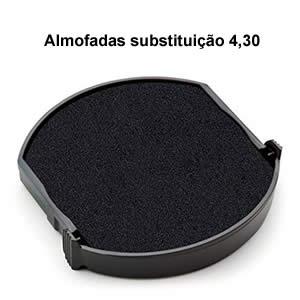 Almofada-redonda-carimbos personalizados para marcar tecido e objetos