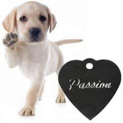 Medalhas identificação cães- Personalizadas a Laser